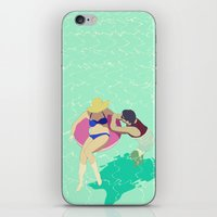 pool iPhone & iPod Skins featuring Pool by ministryofpixel