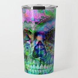 Funky skull ii Travel Mug