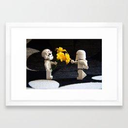Star Wars Clone Love Framed Art Print