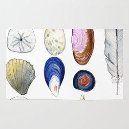 Beach Treasures Rug