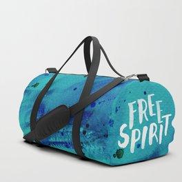 Free Spirit Blue Duffle Bag