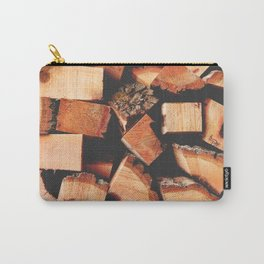 Wood Logging Carry-All Pouch