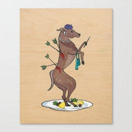 Animal Poverty I Canvas Print