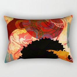 JUST THINKING Rectangular Pillow