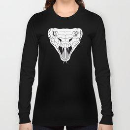 Snake head lineart Long Sleeve T-shirt