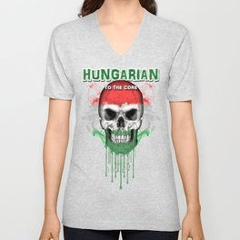 To The Core Collection: Hungary Unisex V-Neck
