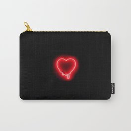 Heart (Neon-Red Edition) Carry-All Pouch