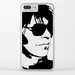 Neil Young Clear iPhone Case