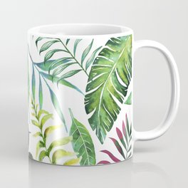 Tropical Flora #society6 #decor #buyart Coffee Mug