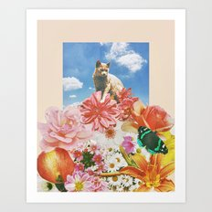 Flowers Lover Art Print