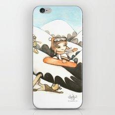 Snowboarders iPhone & iPod Skin