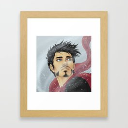 WINTER WIND Framed Art Print