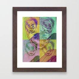 Nala Framed Art Print