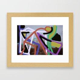 Wind Oh Framed Art Print