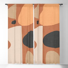 Abstract Shapes 51 Blackout Curtain