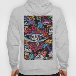 Skull with hat Hoody