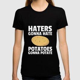 Potato Potatoes Pear French fries T-shirt
