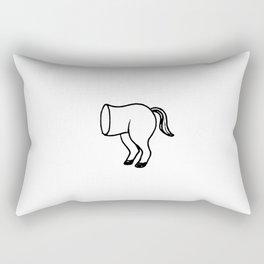 1/2 Arse Rectangular Pillow