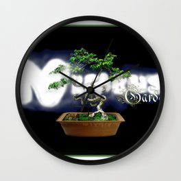 Nimbus Garden ~ a software company Wall Clock