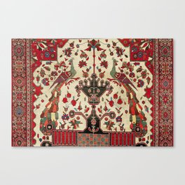 Farahan Arak Antique Persian Rug Canvas Print