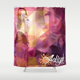 We Love Her Music Shower Curtain