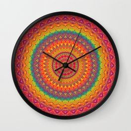 Mandala 507 Wall Clock