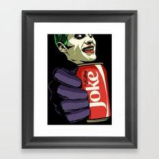 Killing Joke Framed Art Print