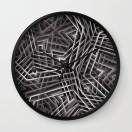 Di-simetrías 3 Wall Clock