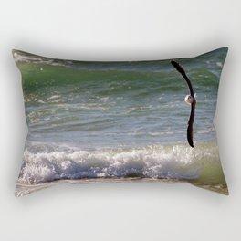 Aerial Ballet Rectangular Pillow