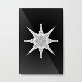Ninja Star 5 Metal Print