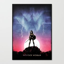 Diana, Princess of the Amazons Canvas Print