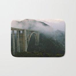 Bixby Bridge, Big Sur, California (landscape) Bath Mat