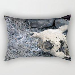 Desert Skull Two Rectangular Pillow