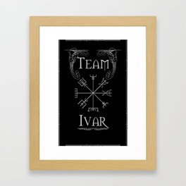 Team Ivar Framed Art Print