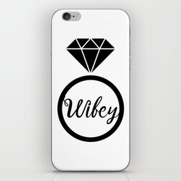 Wifey Matching Married iPhone Skin