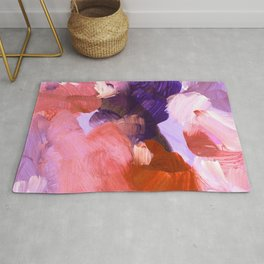 abstract painting V Rug