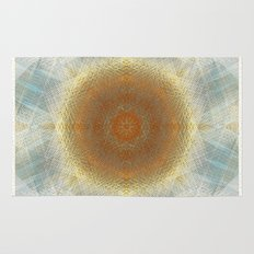 Trendy digital mandala Rug