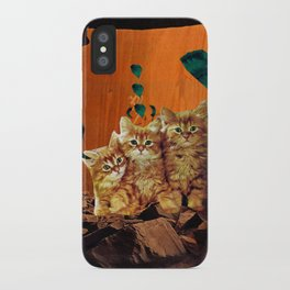 Kittens Hear All iPhone Case