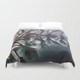 Twisted Wood Duvet Cover