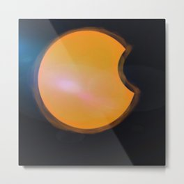 Total Moon Eclipse Metal Print