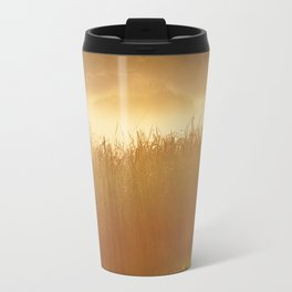 Field Grass in the Mist  2 Travel Mug