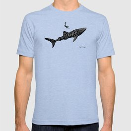 DIVER DOWN - whale shark dive T-shirt