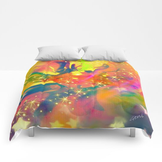 Dream Within a Dream Comforters