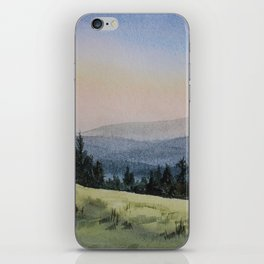 Early Morning in the Mountains iPhone Skin