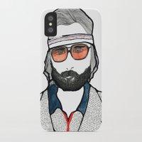 tenenbaum iPhone & iPod Cases featuring Richie Tenenbaum by daniel davidson