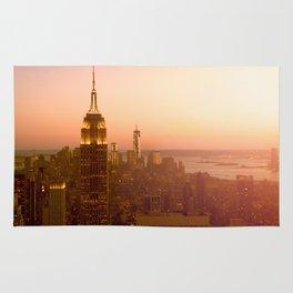 Empire State Building, Manhattan, NYC Skyline, I Love New York, Cityscape Rug