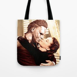 Michael Myers as Clark Gable Tote Bag