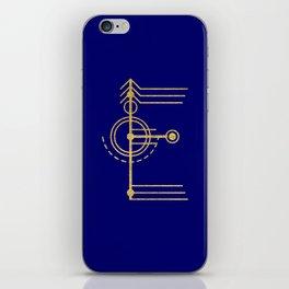 Sacred Geometry Letter E iPhone Skin