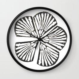 Unity | Botanical Print Wall Clock