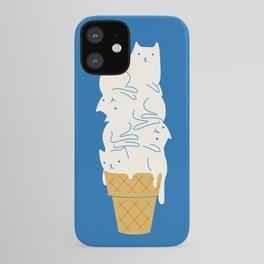 Cats Ice Cream iPhone Case